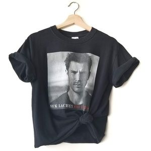 Nick Lachey 98 Degrees Graphic Band Concert Tee